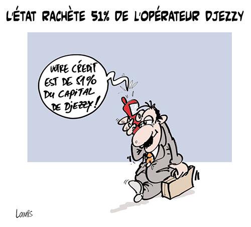L'état rachète 51% des l'opérateur Djezzy - Lounis Le jour d'Algérie - Gagdz.com