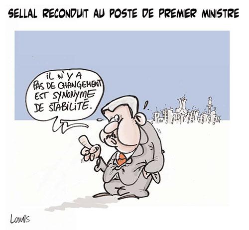 Sellal reconduit au poste de premier ministre - Lounis Le jour d'Algérie - Gagdz.com