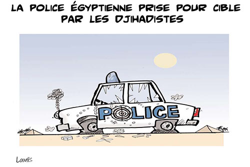 La police égyptienne prise pour cible par les djihadistes - Lounis Le jour d'Algérie - Gagdz.com