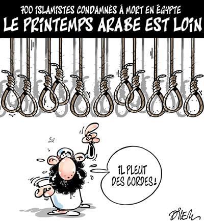 700 islamistes condamnés à mort en Egypte, le printemps arabe est loin - Egypte - Gagdz.com