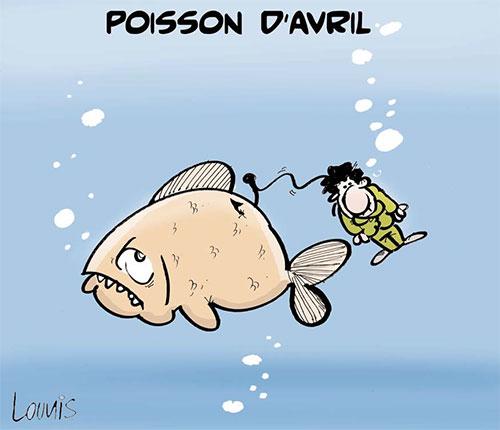 Poisson d'avril - poisson - Gagdz.com