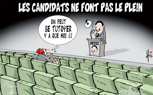Les candidats ne font pas le plein - Le Hic - El Watan - Gagdz.com