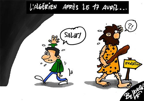 L'algérien après le 17 avril - Belkacem - Le Courrier d'Algérie - Gagdz.com