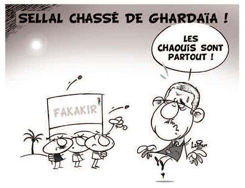 Sellal chassé de Ghardaia - Vitamine - Le Soir d'Algérie - Gagdz.com