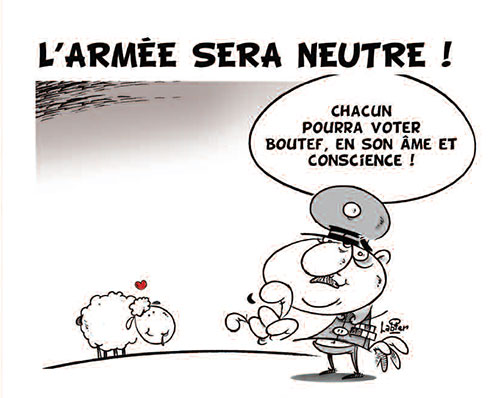 L'armée sera neutre - Vitamine - Le Soir d'Algérie - Gagdz.com