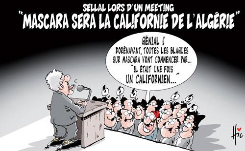 Sellal lors d'un meeting: Mascara sera la Californie de l'Algérie - Présidentielles - Gagdz.com