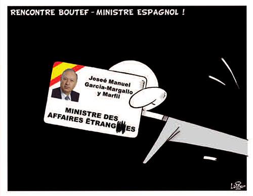Rencontre Boutef - ministre espagnol - Espagne - Gagdz.com