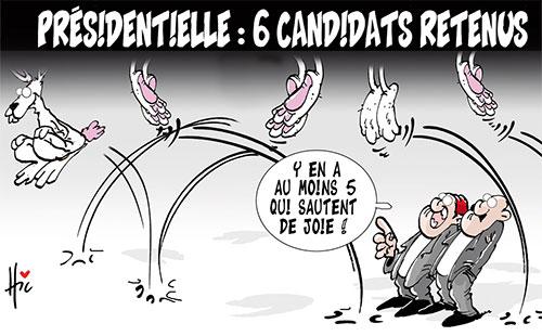 Présidentielle: 6 candidats retenus - Le Hic - El Watan - Gagdz.com