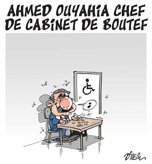 Ahmed Ouyahia chef de cabinet de boutef - Dilem - Liberté - Gagdz.com