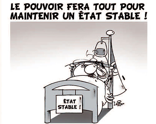 Le pouvoir fera tout pour maintenir un état stable - Vitamine - Le Soir d'Algérie - Gagdz.com