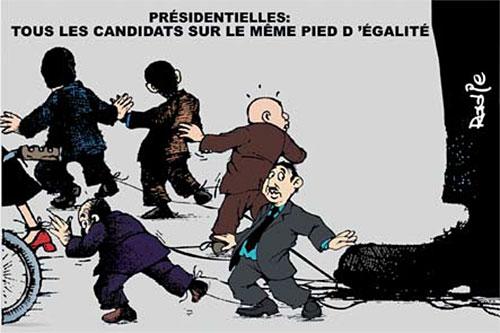 Présidentielles: Tous les candidats sur le même pied d'égalité - Ghir Hak - Les Débats - Gagdz.com
