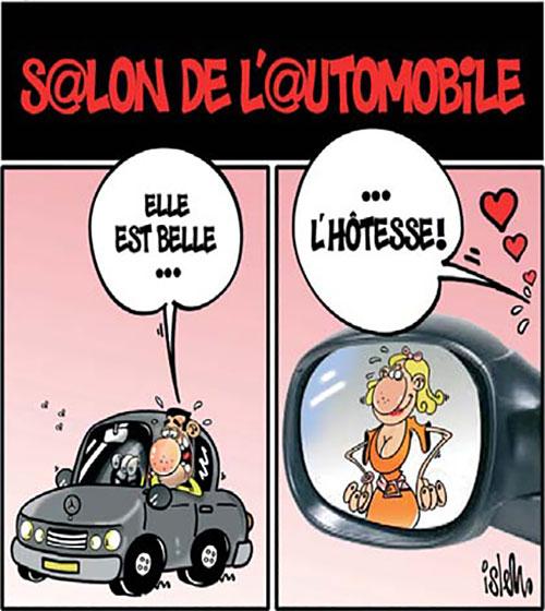 Le salon de l'automobile - Islem - Le Temps d'Algérie - Gagdz.com