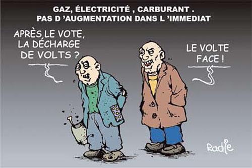 Gaz, électricité, carburant: Pas d'augmentation dans l'immédiat - Ghir Hak - Les Débats - Gagdz.com