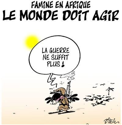 Famine en afrique, le monde doit agir - Dilem - TV5 - Gagdz.com