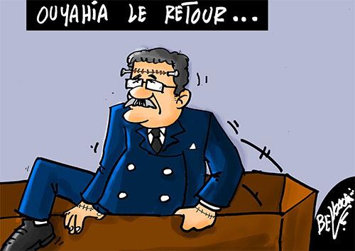 Ouyahia le retour - Belkacem - Le Courrier d'Algérie - Gagdz.com
