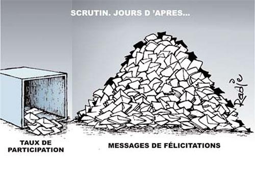 Scrutin, jours d'après - Ghir Hak - Les Débats - Gagdz.com