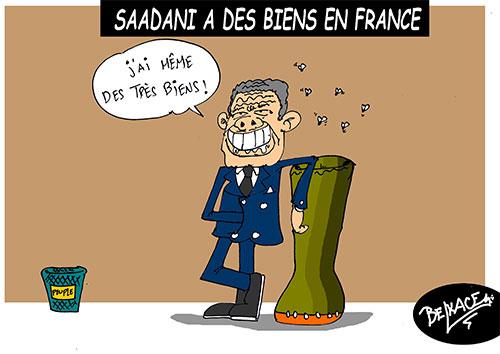 Saadani a des biens en France - Belkacem - Le Courrier d'Algérie - Gagdz.com