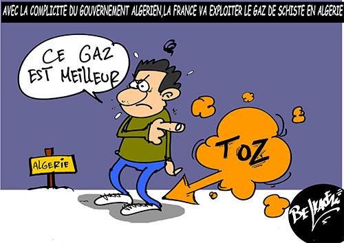Avec la complicité du gouvernement algérien: La France va exmploiter le gaz de schiste en Algérie - Belkacem - Le Courrier d'Algérie - Gagdz.com
