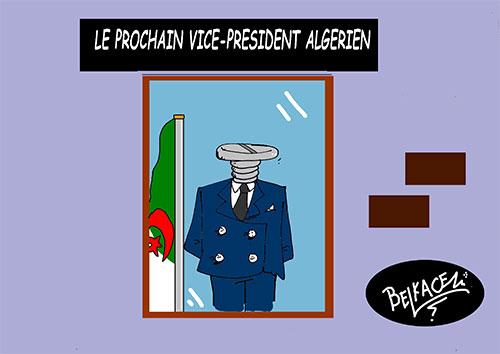 Le prochain vice-président algérien - Belkacem - Le Courrier d'Algérie - Gagdz.com
