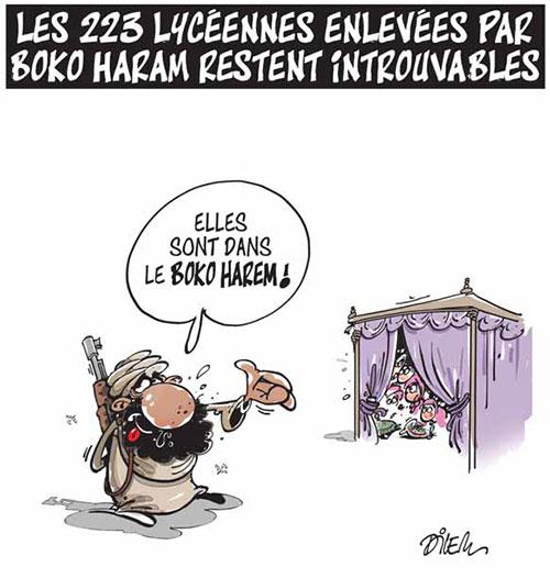 Les 223 lycéennes enlevées par boko haram restent introuvables - Dilem - Liberté - Gagdz.com