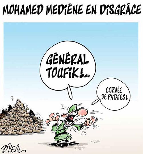 Mohamed Mediéne en disgrâce - Dilem - Liberté - Gagdz.com
