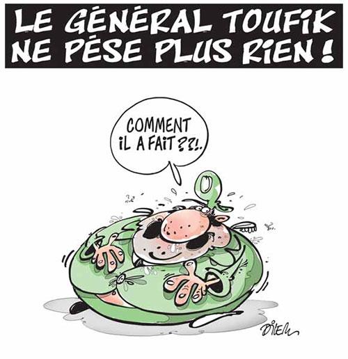 Le général Toufik ne pèse plus rien - Dilem - Liberté - Gagdz.com