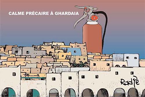 Calme précaire à Ghardaia - Ghir Hak - Les Débats - Gagdz.com