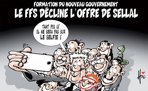 Formation du nouveau gouvernement: Le FFS décline l'offre de Sellal - Le Hic - El Watan - Gagdz.com