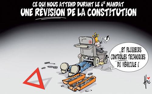 Ce qui nous attend durant le 4e mandat: Une révision de la constitution - Le Hic - El Watan - Gagdz.com