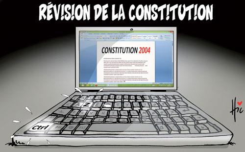 Révision de la constitution - Le Hic - El Watan - Gagdz.com