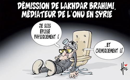 Démission de Lakhdar Brahimi, médiateur de l'onu en Syrie - Le Hic - El Watan - Gagdz.com