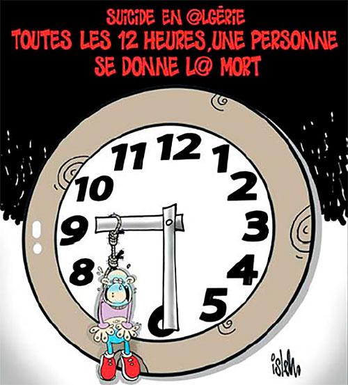 Suicide en Algérie: Toutes les 12 heures, une personne se donne la mort - Islem - Le Temps d'Algérie - Gagdz.com