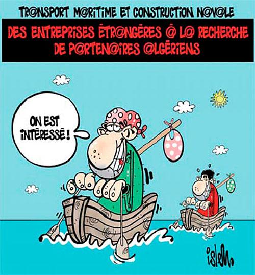 Transport maritime et construction navale: Des entreprises étrangères à la recherche de partenaires algériens - partenaires - Gagdz.com