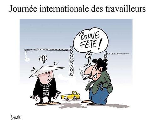 Journée internationale des travailleurs - Lounis Le jour d'Algérie - Gagdz.com