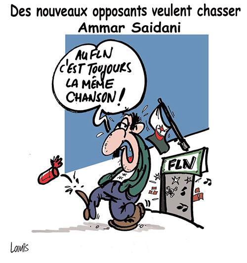Des nouveaux opposants veulent chasser Ammar Saidani - Lounis Le jour d'Algérie - Gagdz.com