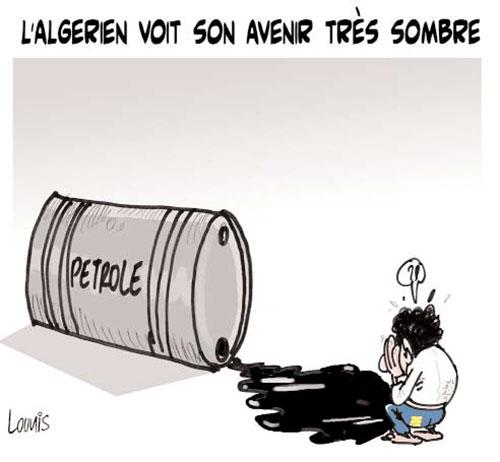 L'algérien voit son avenit très sombre - Lounis Le jour d'Algérie - Gagdz.com