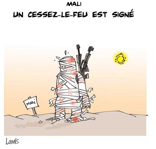 Mali: Un cessez le feu est signé - mali - Gagdz.com