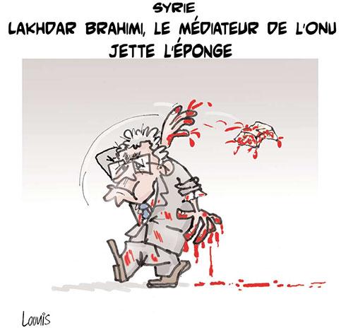 Syrie: Lakhdar Brahimi, le médiateur de l'onu jette l'éponge - Lounis Le jour d'Algérie - Gagdz.com