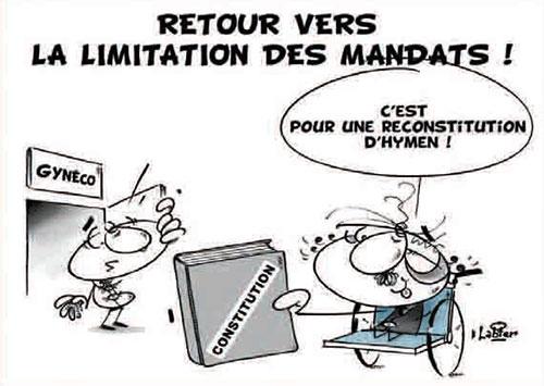 Retour vers la limitation des mandats - Vitamine - Le Soir d'Algérie - Gagdz.com