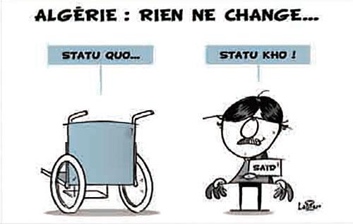 Algérie: Rien ne change - Vitamine - Le Soir d'Algérie - Gagdz.com