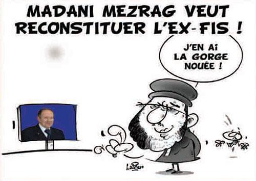 Madani Mezrag veut reconstituer l'ex fis - Mezrag - Gagdz.com