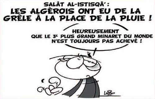 Salât al-istisqâ: Les Algérois ont eu de la grèle à la place de la pluie - Vitamine - Le Soir d'Algérie - Gagdz.com