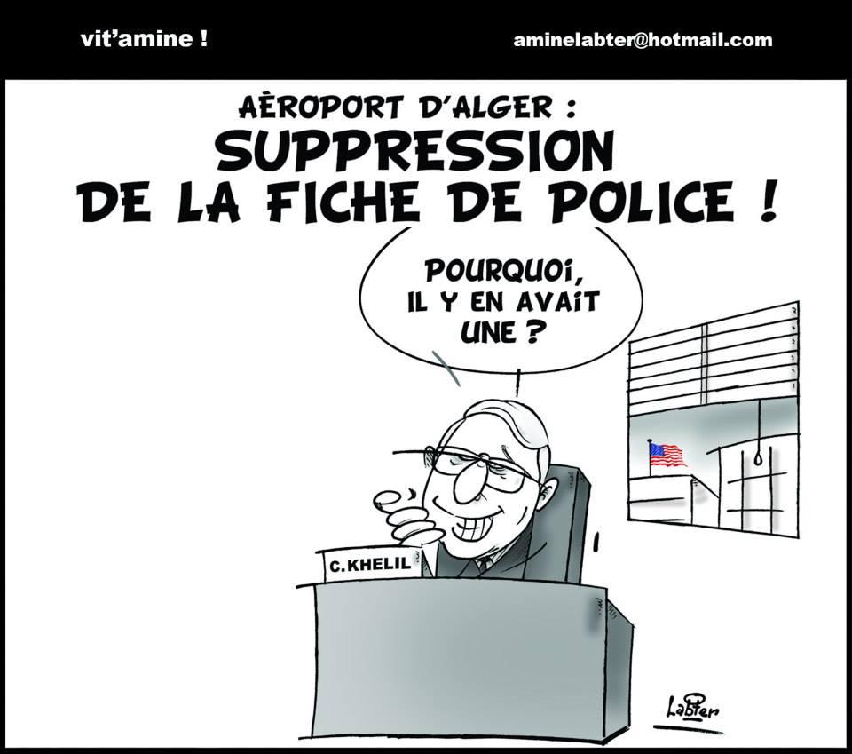 Aéroport d'Alger: Suppression de la fiche de police - Vitamine - Le Soir d'Algérie - Gagdz.com