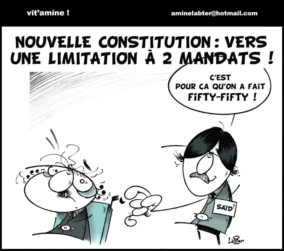 Nouvelle constitution: Vers une limitation à 2 mandats - Vitamine - Le Soir d'Algérie - Gagdz.com