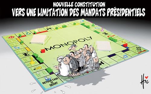 Nouvelle constitution: Vers une limitation des mandats présidentiels - Le Hic - El Watan - Gagdz.com