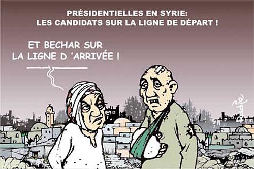 Présidentielle en Syrie: Les candidats sur la ligne de départ - Ghir Hak - Les Débats - Gagdz.com