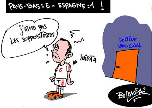 Pays-Bas: 5 - Espagne: 1 - Espagne - Gagdz.com