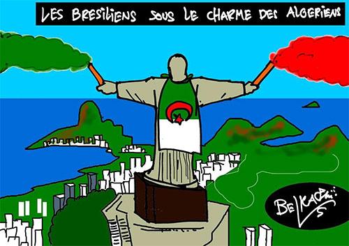 Les Brésiliens sous le charme des algériens - Belkacem - Le Courrier d'Algérie - Gagdz.com