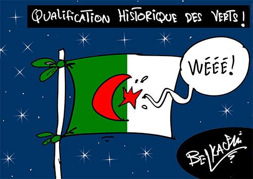 Qualification historique des verts - qualification - Gagdz.com