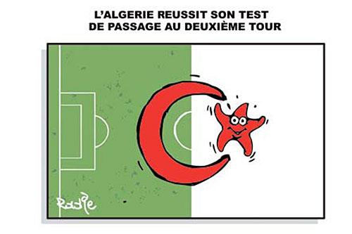 L'Algérie réussit sont test de passage au deuxième tour - Ghir Hak - Les Débats - Gagdz.com